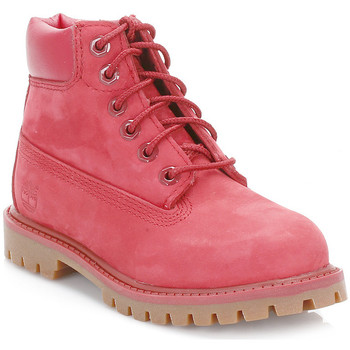 Chaussures Fille Boots Timberland Toddler Red 6 Inch Premium Waterproof Boots Timberland_568