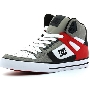 Chaussures Homme Baskets montantes DC Shoes Spartan High WC Grey / red / white