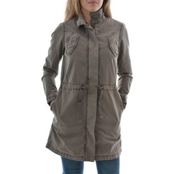 Vêtements Femme Parkas Street One blousons ete  benno, washed cotton parka beige beige