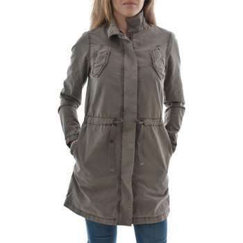 Parkas Street One blousons ete  benno, washed cotton parka beige