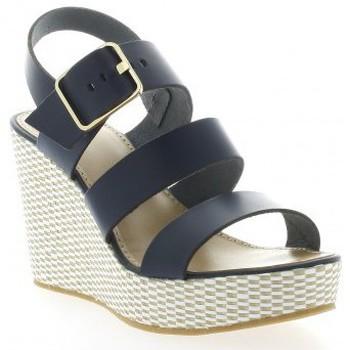 Chaussures Femme Sandales et Nu-pieds Exit Nu pieds cuir Bleu