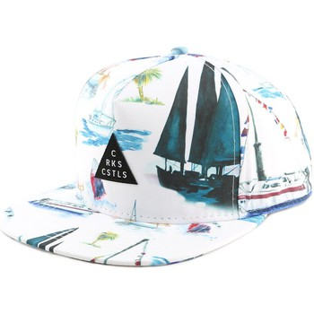 Casquettes Crooks & Castles Casquette Crooks and Castles Paradise White