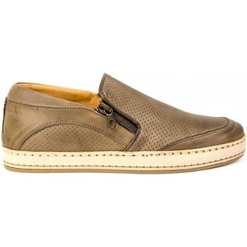 Baskets basses Exton SLIPON  PERFORé ART.56 DE CUIR