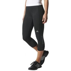 Vêtements Femme Leggings adidas Originals Collant 3/4 Running Sequencials RUN noir