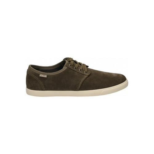 Chaussures Homme Baskets basses Clarks TORBAY LACE vert