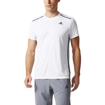 Vêtements Homme T-shirts manches courtes adidas Performance Cool 365 Tee Blanc