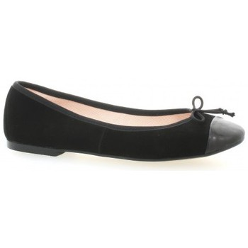 Chaussures Femme Ballerines / babies Exit Ballerines cuir velours Noir