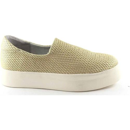 Chaussures Femme Slip ons Frau FRA-37Y0-OR Beige