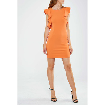 Robes courtes Fracomina Robe  Orange Femme