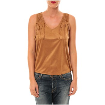 Vêtements Femme T-shirts & Polos Nina Rocca Top MC1998 camel Marron
