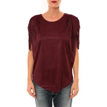 Vêtements Femme Tops / Blouses Nina Rocca Top C1844 bordeaux Rouge