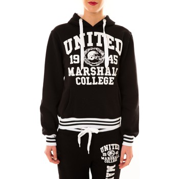 Vêtements Femme Sweats Sweet Company Sweat United Marshall 1945 noir/blanc Noir