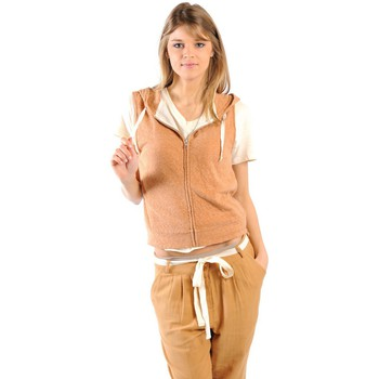 Vêtements Femme Sweats American Vintage ZIPPER CAPUCHE PRA193E11 ROUILLE CHINE Orange