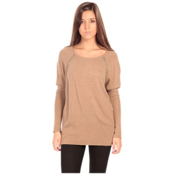 Vêtements Femme Pulls Charlie Joe Pull Fuzzi Marron
