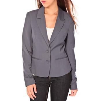Vêtements Femme Vestes / Blazers Vero Moda Dollar Blazer EA Wall July Gris Gris