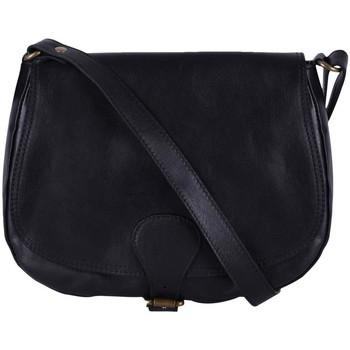 Sacs porté épaule Oh My Bag Sac à main cuir femme - Modèle Vintage noir