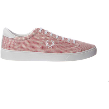 Fred Perry Homme Baskets Spencer Rouge...