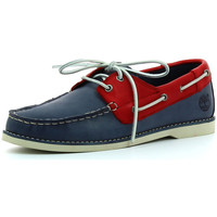 Chaussures Garçon Mocassins Timberland Seabury classic 2-Eye Boat Navy with Red