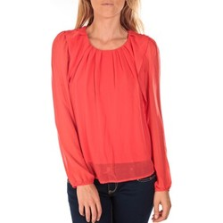 Vêtements Femme Tops / Blouses Vero Moda Top Cherry L/S Corail Orange