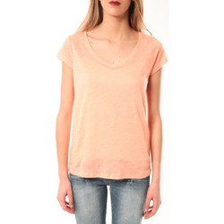 Vêtements Femme T-shirts manches courtes Little Marcel T-Shirt Talin E15FTSS0116 Corail Pastel Orange