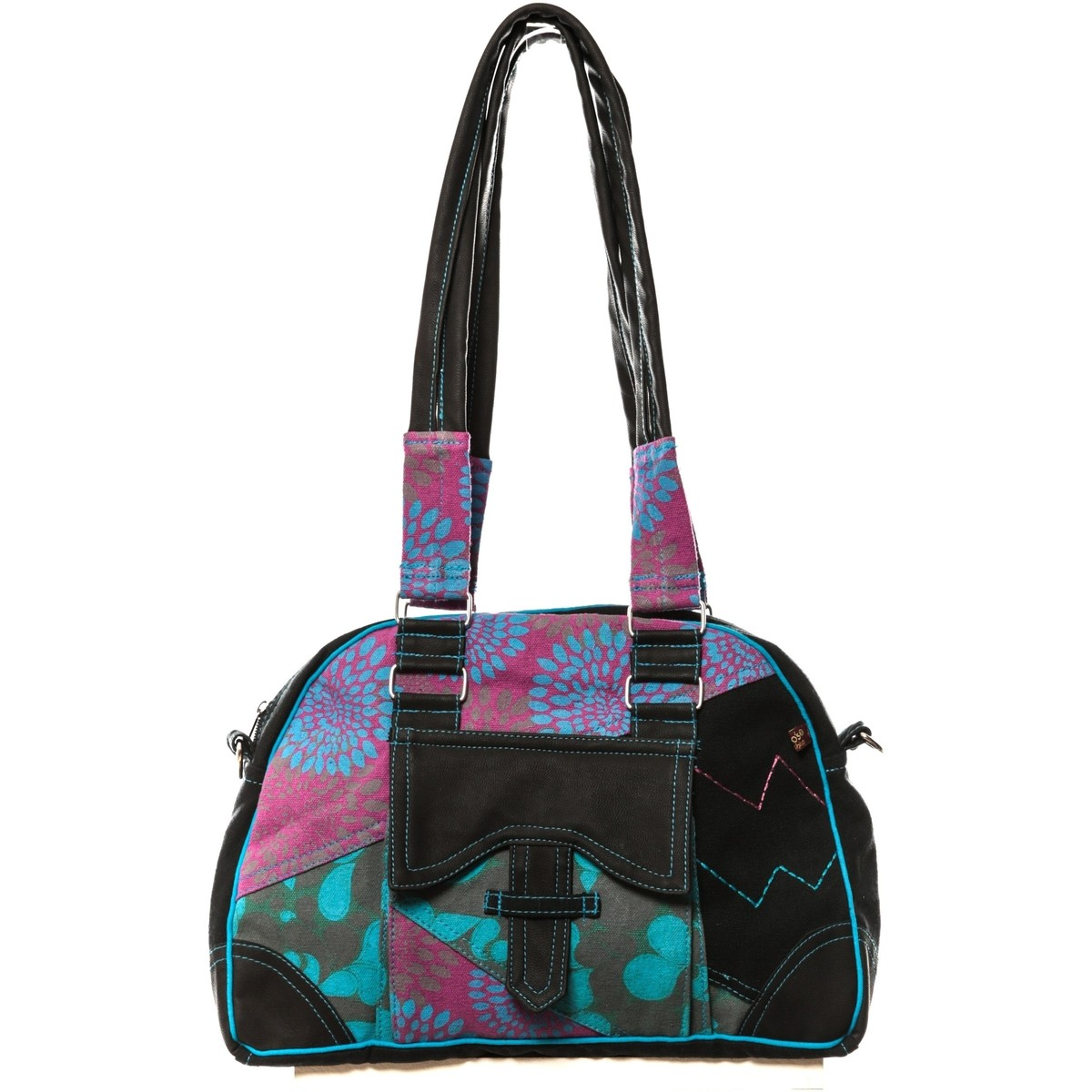 bamboo 39 s fashion sac main miami gn 145 bleu violet multicolor sacs sacs port paule femme. Black Bedroom Furniture Sets. Home Design Ideas