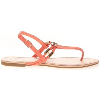 Chaussures Femme Tongs Cassis Côte d'Azur Sandales Monika Corail Orange