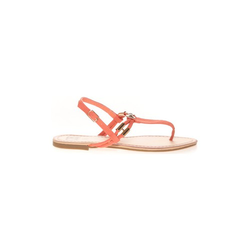 Chaussures Femme Tongs Cassis Côte D'azur Sandales Monika Corail Orange