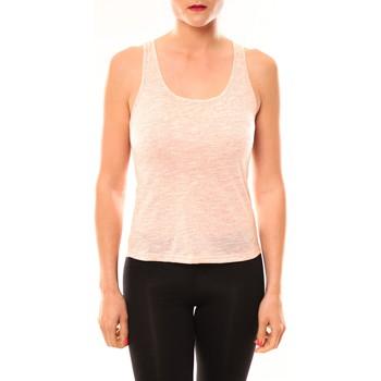 Vêtements Femme Débardeurs / T-shirts sans manche Meisïe Débardeur 50-502SP15 Corail Orange