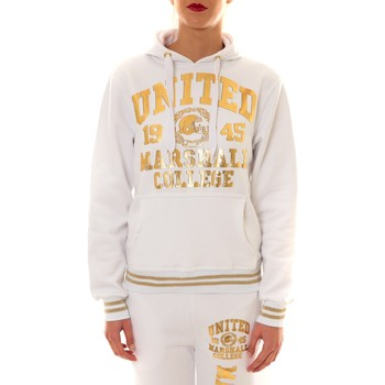 Vêtements Femme Sweats Sweet Company Sweat United Marshall 1945 blanc/or Doré