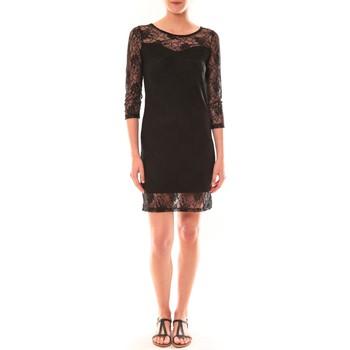 Vêtements Femme Robes courtes Carla Conti Robe 158  Noire Noir