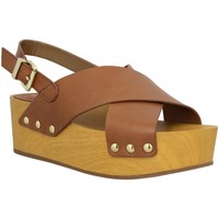 Chaussures Femme Sandales et Nu-pieds Sam Edelman Bentlee cuir Femme Marron Marron