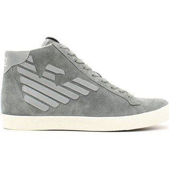 Chaussures Emporio armani ea7 278039 cc299 sneakers man gris