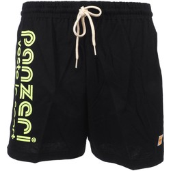 Vêtements Homme Shorts / Bermudas Panzeri Uni a noir fl jne jersey Noir