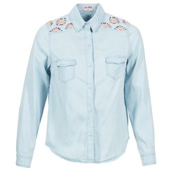 Tops & Chemises  Yurban EGUATOULE Bleu clair 350x350