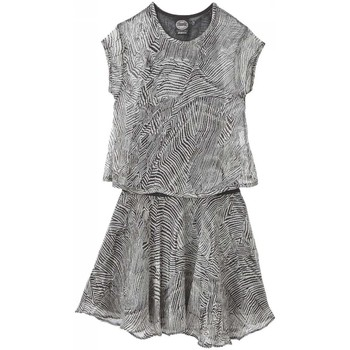 Robes courtes Chipie - Robe 2 en 1 polyester gris ado fille
