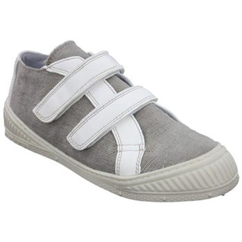 Chaussures Fille Baskets basses Pataugas h43patau111 gris