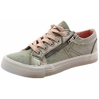 Chaussures Fille Baskets basses Kaporal 470170 gris