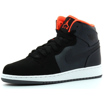 Chaussures Garçon Baskets montantes Nike Air  1 Retro High Metallic