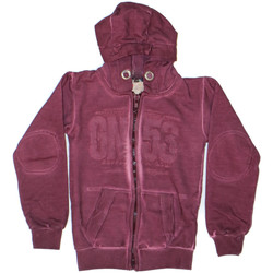 Vêtements Garçon Sweats Geographical Norway Sweat Enfant Garibaldi Bordeaux