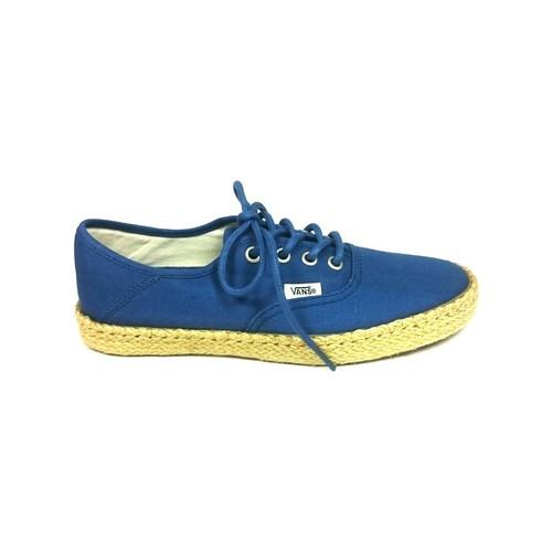 Chaussures Femme Baskets basses Vans Authentic ESP Bleu 4K5EBL Bleu
