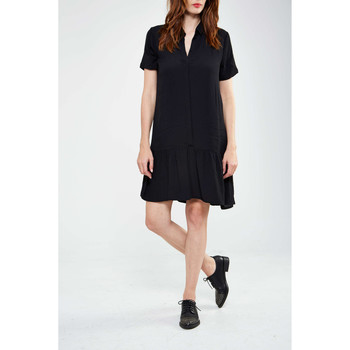 Robes courtes Minimum Robe  Cloe Noir Femme