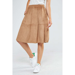 Jupes Minimum Jupe  Shirley Camel Femme