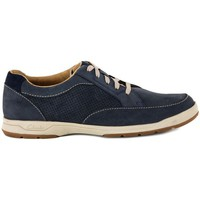 Chaussures Homme Baskets basses Clarks STAFFORD NAVY Blu