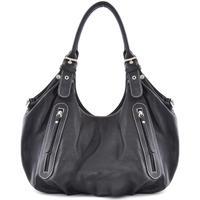 Sacs porté épaule Oh My Bag Sac à Main CUIR femme - Modèle St trop' bleu foncé