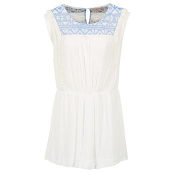 Vêtements Femme Robes courtes Moony Mood EBENE Blanc