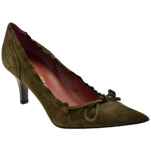 Chaussures Femme Escarpins Bocci 1926 ÉlastiqueT.bord50Escarpins Gris