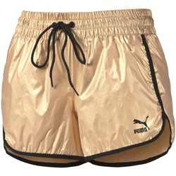 Vêtements Femme Shorts / Bermudas Puma Gold Short Doré