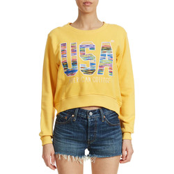 Vêtements Femme Sweats American College Sweat Shirt  Legend W Jaune Femme Jaune