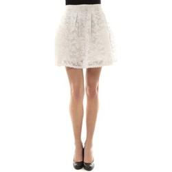 Vêtements Femme Jupes Vera & Lucy Jupe brodée Blanc J303 Blanc