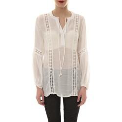 Vêtements Femme Tuniques Comme Des Filles Tunique blanche TU 202 Blanc